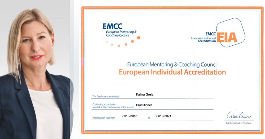 Coach z akredytacjąEIA EMCC Kalina Grela-ŁężakKalina Grela-Łężak coach z akredytacjąEIA EMCC