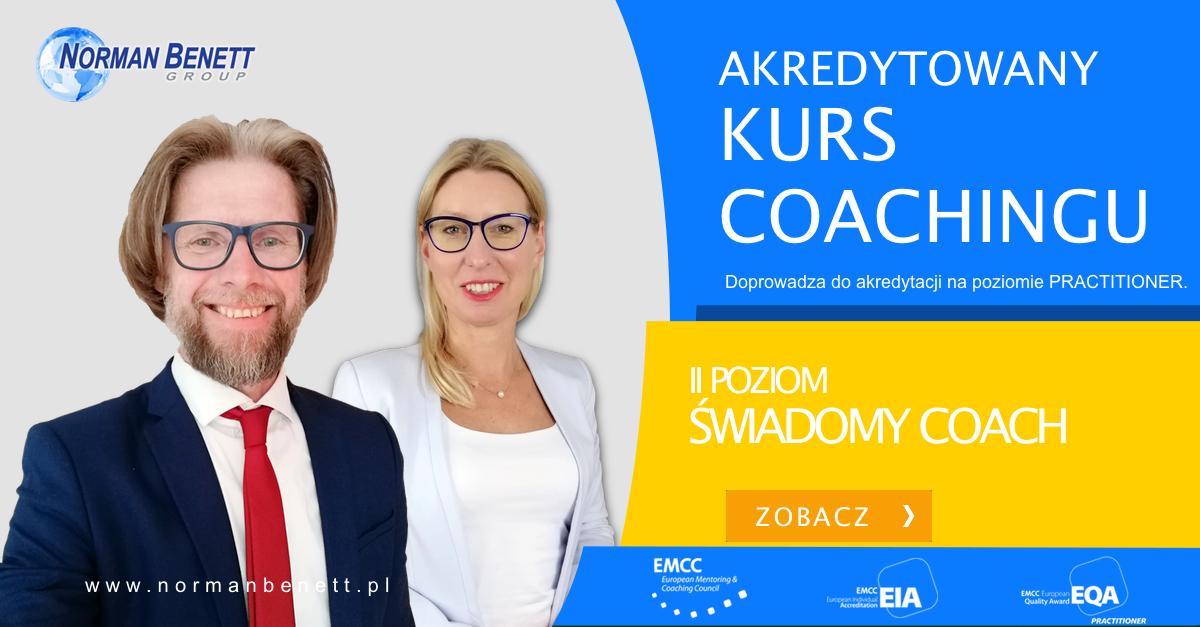 Kurs coachingu II Poziom - Świadomy Coach