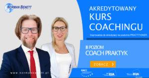 Akredytowany kurs coachingu w Norman Benett